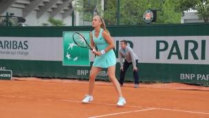 Le match de Charlotte Robillard-Millette en son et images