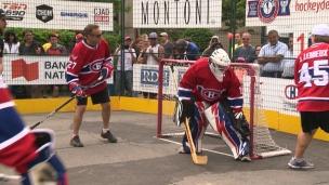 Du hockey balle pour une bonne cause