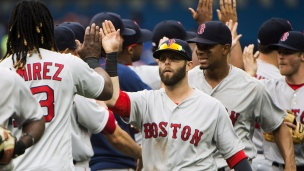 Red Sox 5 - Blue Jays 3 (11 manches)