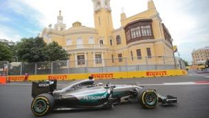 Essais F1 : doublé Mercedes en Azerbaïdjan