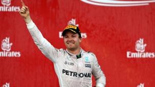 Rosberg retrouve la victoire en Europe