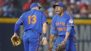 Mets 1 - Braves 0 (11 manches)