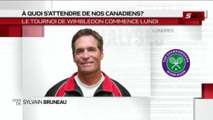 À quoi s'attendre des Canadiens à Wimbledon?