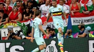 Hongrie 0 - Belgique 4