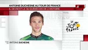Antoine Duchesne sera du Tour de France
