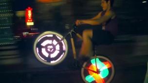 Illuminez votre vélo avec de la techno