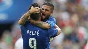 Italie 2 - Espagne 0