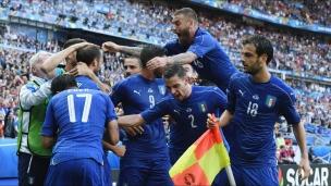 Résumé du match Italie-Espagne
