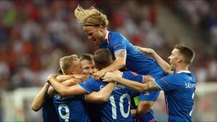 Résumé du match Angleterre-Islande