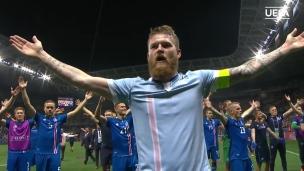 La célébration historique des Islandais