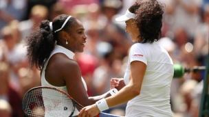 Serena Williams sans frémir
