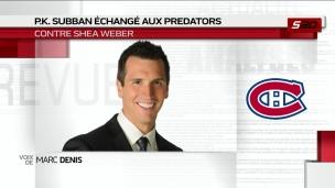Weber : Un contrat très lourd
