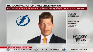 Beaucoup d'action chez le Lightning