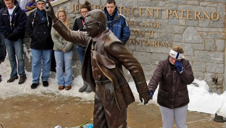 Statue de Joe Paterno
