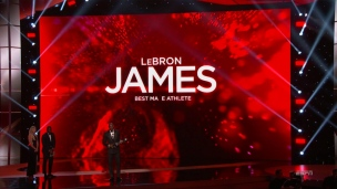 King James couronné au gala des Espys
