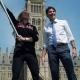 Rosie MacLennan et Justin Trudeau