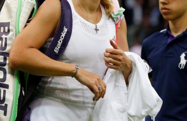 Wozniacki se retire en plein tournoi