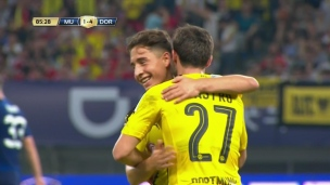 Manchester United 1 - Borussia Dortmund 4