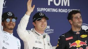 Rosberg en position de tête à Budapest