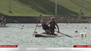 Les finales en canöe-kayak