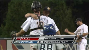 Aigles 7 - Capitales 14