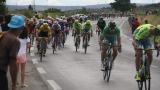 Attaque de Peter Sagan lors de l'étape Carcassonne - Montpellier.