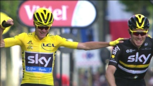 Greipel au sprint, Froome champion!