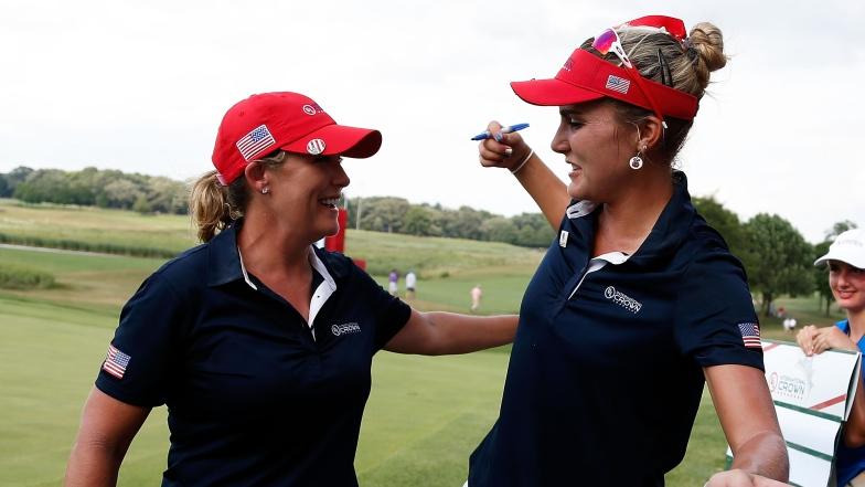 Cristie Kerr et Lexi Thompson