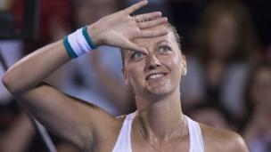 Kvitova accède au 2e tour sans problèmes