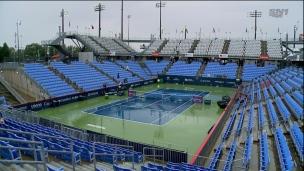 La pluie complique la 1re journée à Montréal