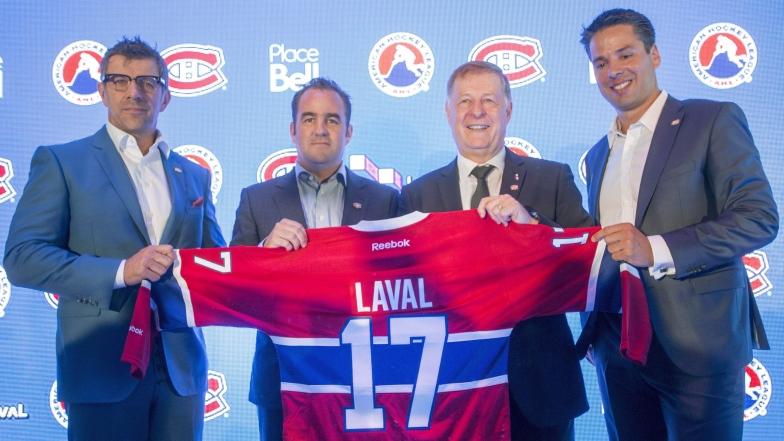 Le Rocket s'installera à Laval en 2017