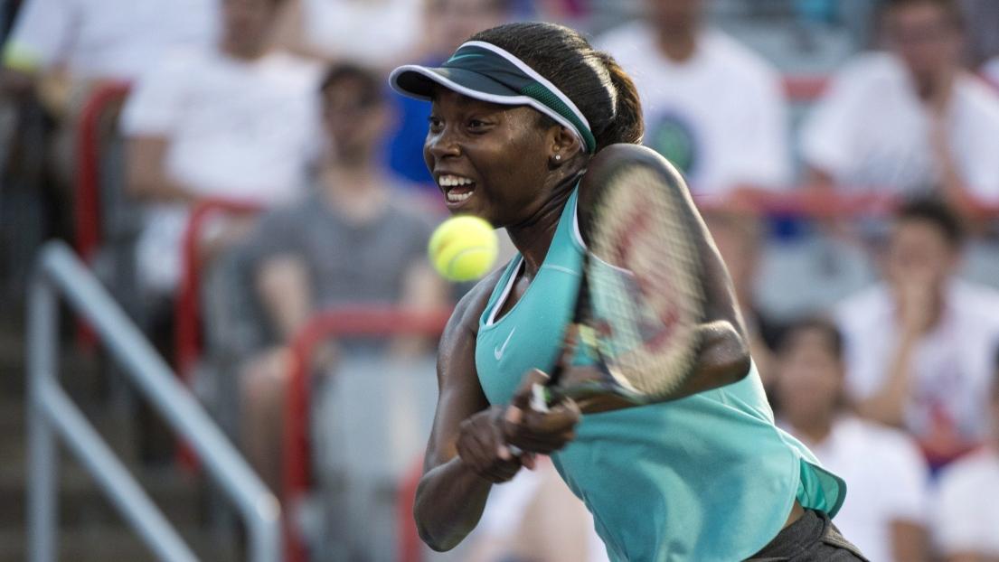 Françoise Abanda gagne son premier match aux Internationaux de France — Roland-Garros