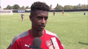 Entrevue avec Gedion Zelalem