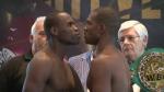 Dernier face-à-face avant de monter dans le ring