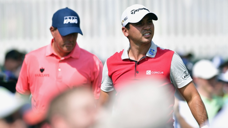 Phil Mickelson et Jason Day