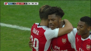 Akpom redonne les devants à Arsenal