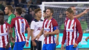 Tottenham 0 - Atletico Madrid 1