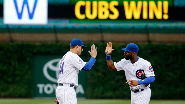 Anthony Rizzo et Jason Heyward