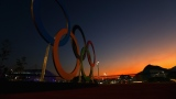 Les anneaux olympiques à Rio