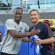 Diddier Drogba et Francesco Totti