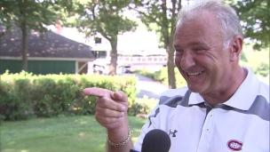 Une mouche qui fait bien rire Michel Therrien