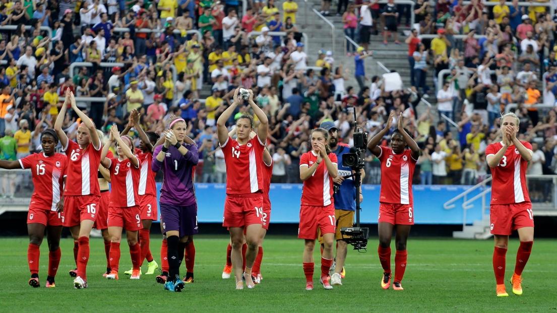 L'équipe canadienne de soccer