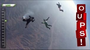 Oups! Chute libre de 7620 mètres!