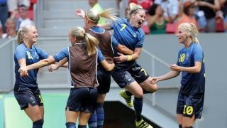L'équipe de soccer féminin de Suède