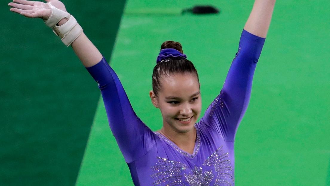 Gymnastique   Une 3e fois l or pour Simone Biles da8d7a89fe9