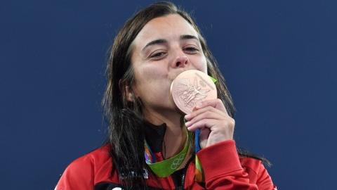 Benfeito a pu récupérer ses trois médailles olympiques