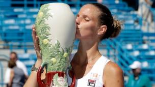 Pliskova prive Kerber du 1er rang mondial