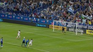 Encore un penalty... encore un but encaissé!