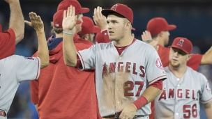 Angels 8 - Blue Jays 2