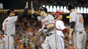 Orioles 10 - Nationals 8